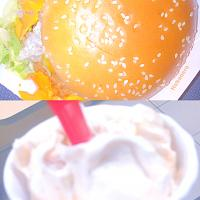 Ghost pepper chicken sandwich and a pumpkin pie blizzard
