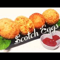 Scotch eggs #RichLe's Kitchen