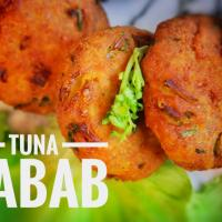 Tuna kabab with Canned Tuna