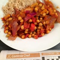 Thrifty lockdown curry (Morning Star Commie Chef recipe)