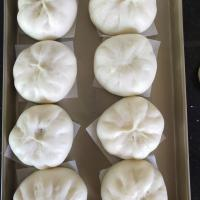 soft and fluffy Chao Bao kneaded by Kitchenaids