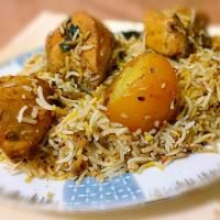 chicken dum pulao