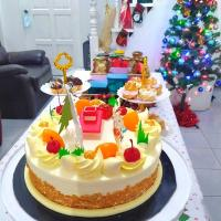 Durian Cake for Christmas