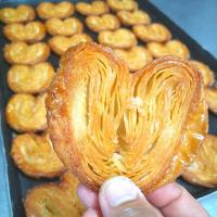 baked pastry love
