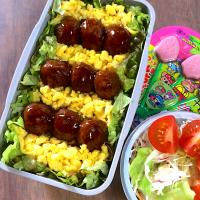 R3.2/12  ❁¨̮ミートボール弁当。
