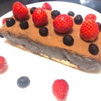 Valentine chocolate tarte🍫