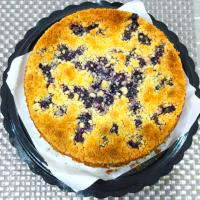 blueberry crumble cheese cake