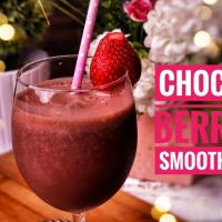 CHOCO BERRY SMOOTHIE click 'view recipe' to get the recipe