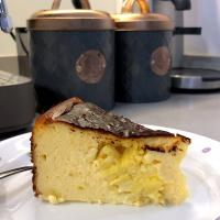 Musang king durian burnt cheesecake