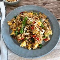 Cauliflower Fried-Rice with Tuna