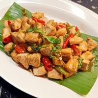 Stir Fried Pork with Basil