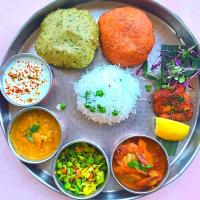 Indian full plate lunch