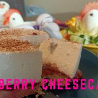 No-Bake mini Raspberry Cheesecake