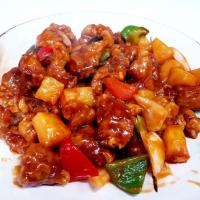 咕噜肉 - sweet and sour pork