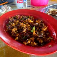Fried chili squid
