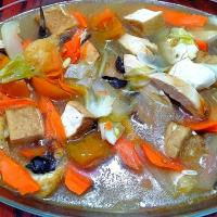 Mix Vege with taufu & Chicken