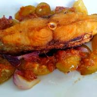 Fried fish hot &  sour sambal