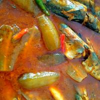 Fish Curry with Chilli & Sour Belimbing buluh