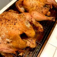 Crispy Skin Roasted Chicken
