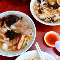 kolo mee & pork soup